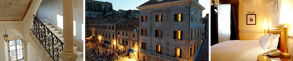 The Pucic Palace 5 star boutique hotel in central Dubrovnik